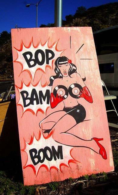 bop bam boom