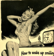 how to wake up smiling