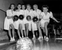 bowling girls
